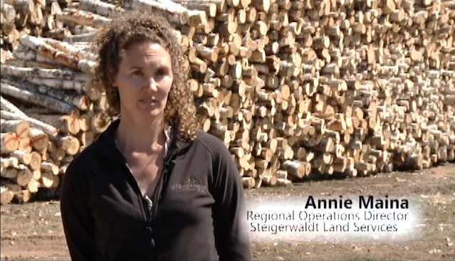 Annie Maina Featured in Forest Management Series
